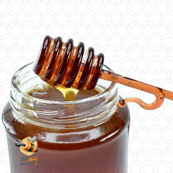 قاشق عسل مدل نوش هفت گوهر