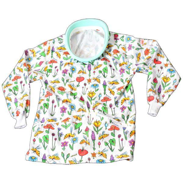 لباس زنبورداری نیم تنه زنانه هفت گوهر