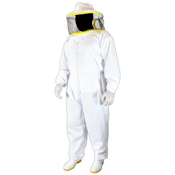 لباس زنبورداری سرهمی کلاه گرد