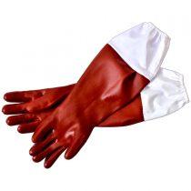 دستکش زنبورداری چرم مصنوعی