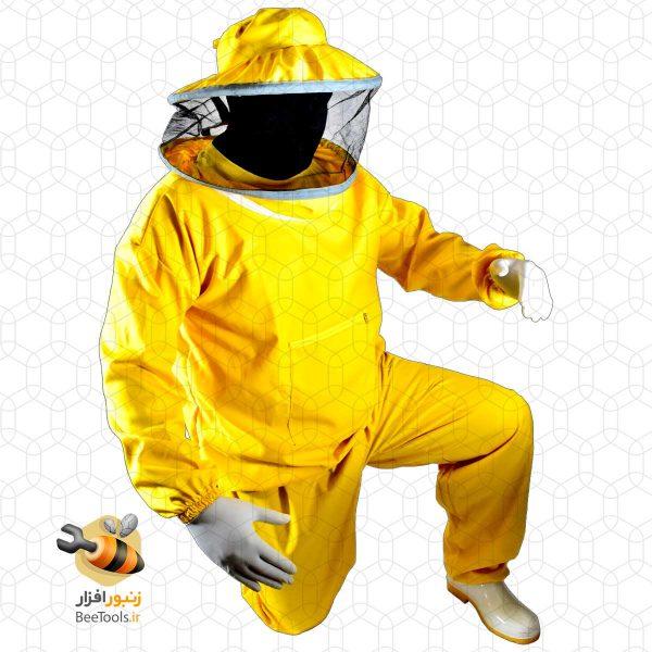 نیم تنه زنبورداری کلاه گرد